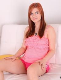 Teen redhead anal fucked