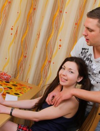 Sweet student fucked by tutor